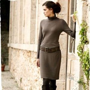 Peruvian Connection Sorrento Turtleneck Dress Knit